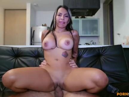 Catalina Diaz Colombiana Tetona en Casting